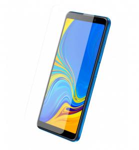 Protection d'écran pour Samsung A7 2018 en verre trempé antichoc