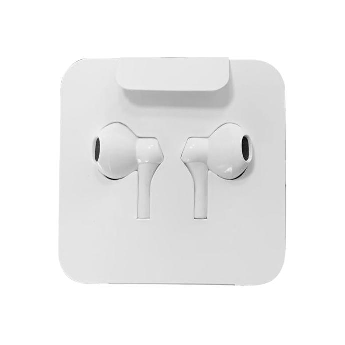 Ecouteurs Stéreo White Jack 3,5mm - Livré Sans blister