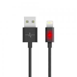 Câble Nylon Luminous pour iPhone 5/6/7/X/XR/XS - série Elégance