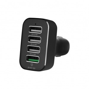 Chargeur Voiture 4 ports USB Quick Charge 3.0 9.6A