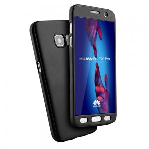 Coque 360 en Rubber pour Huawei Série P