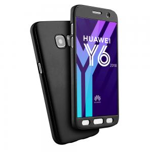 Coque 360 en Rubber pour Huawei Série Y