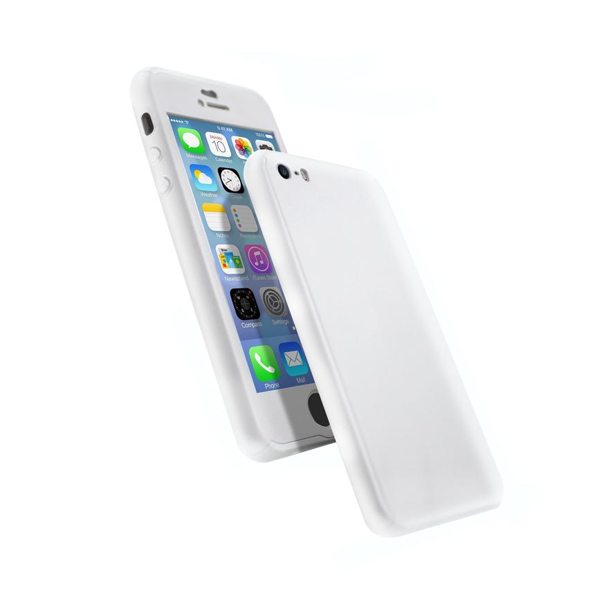 Coque 360 en Rubber pour iPhone 6+/6s+