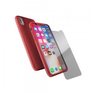 Coque 360 en Rubber pour iPhone X