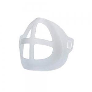 Coque silicone réutilisable et lavable pour masque chirurgical (sachet de 10)