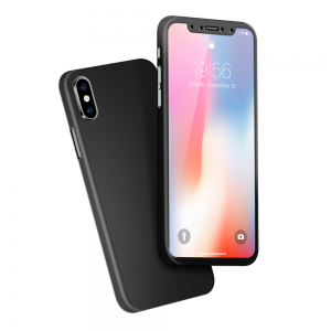 Cover 360° en Rubber pour iPhone X/XS