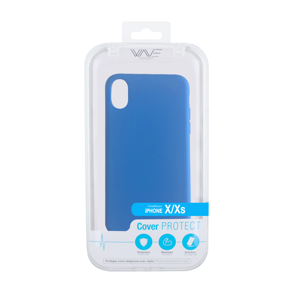 Cover Flash Color pour iPhone X/XS