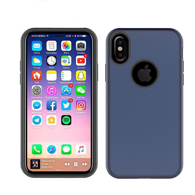 Cover Hybrid X pour iPhone X Wave Concept