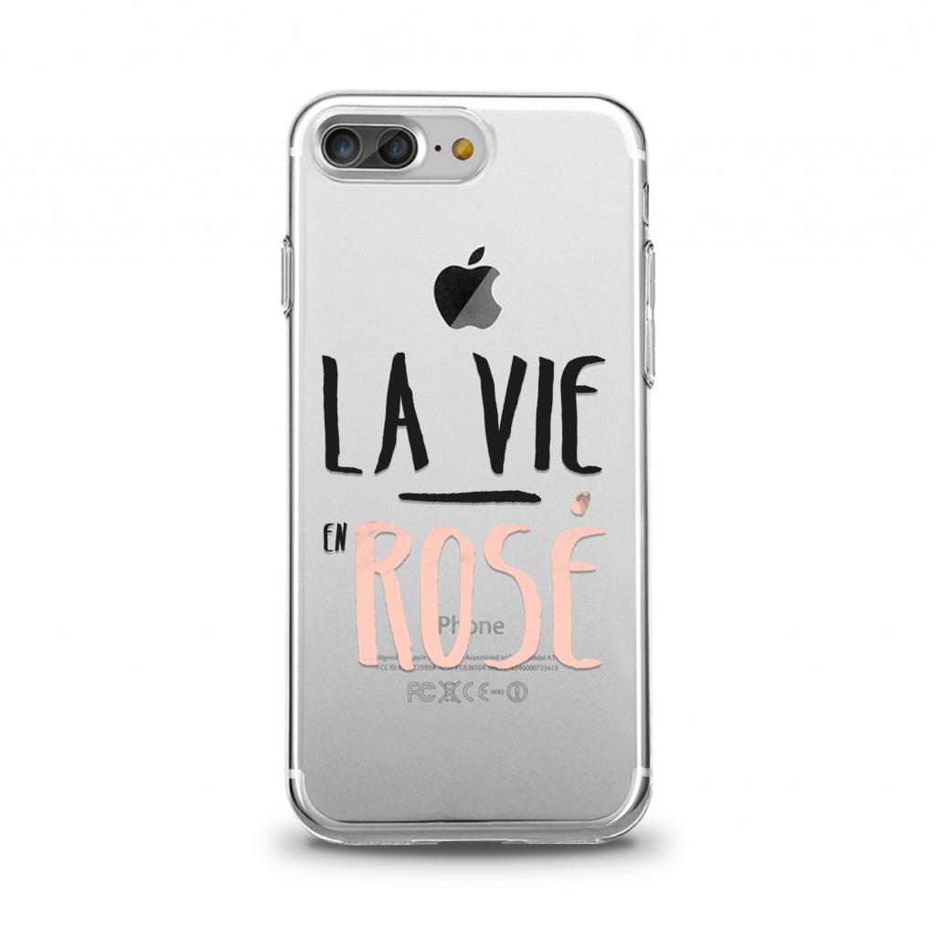 "Cover pour iPhone - \\\\\\\""La Vie en Rosé\\\\\\\"" - Collection \\\\\\\""First One\\\\\\\"" Spring/Summer 2018"