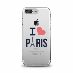 "Cover pour iPhone - \\\""Paris de Coeur\\\\\\\"" - Collection \\\\\\\""First One\\\\\\\"" Spring/Summer 2018"