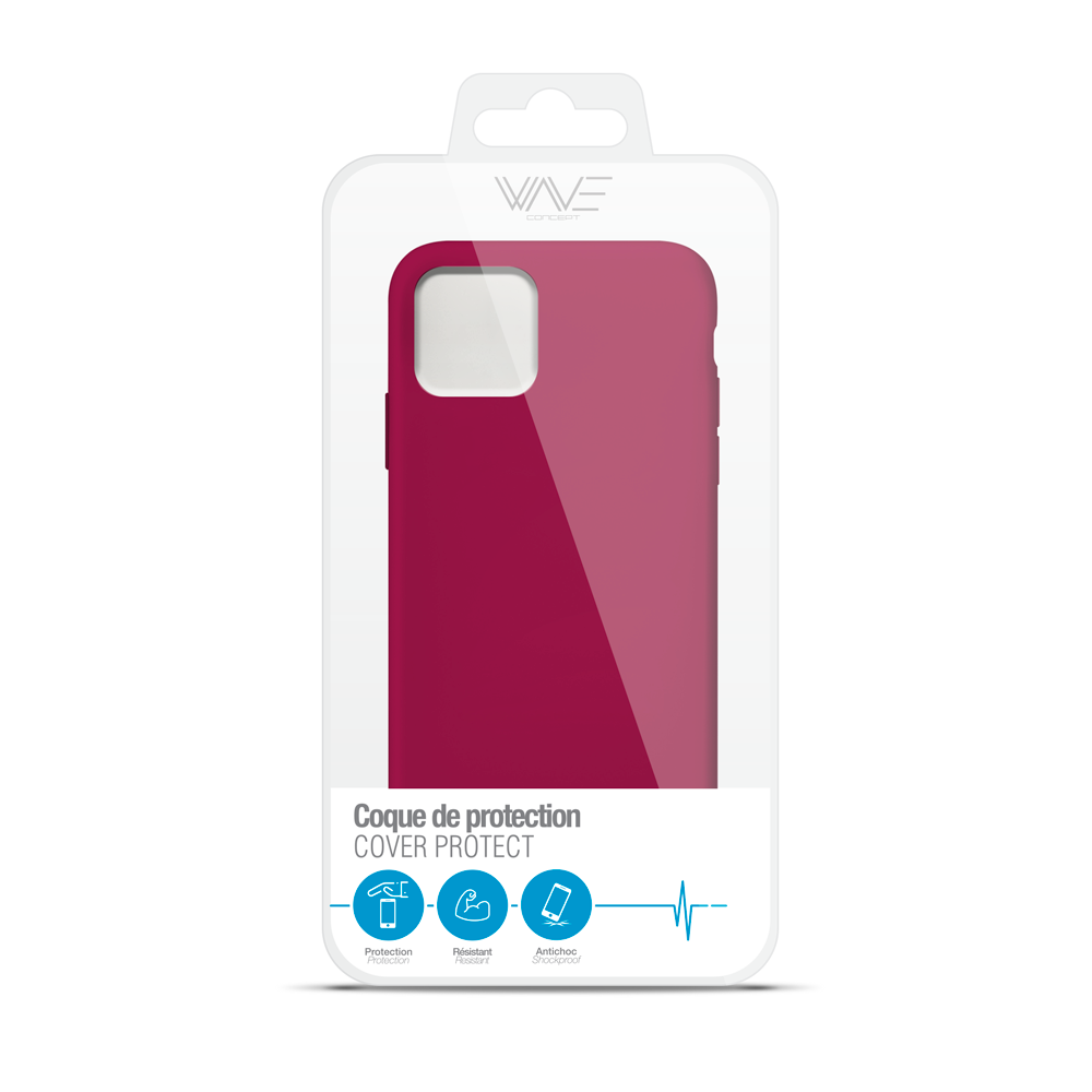 Cover Premium Silicone pour iPhone 11