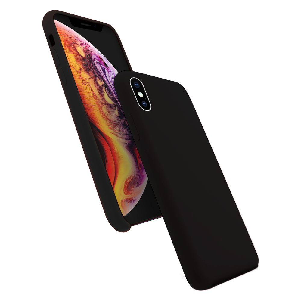 Cover Premium Silicone pour iPhone X/XS