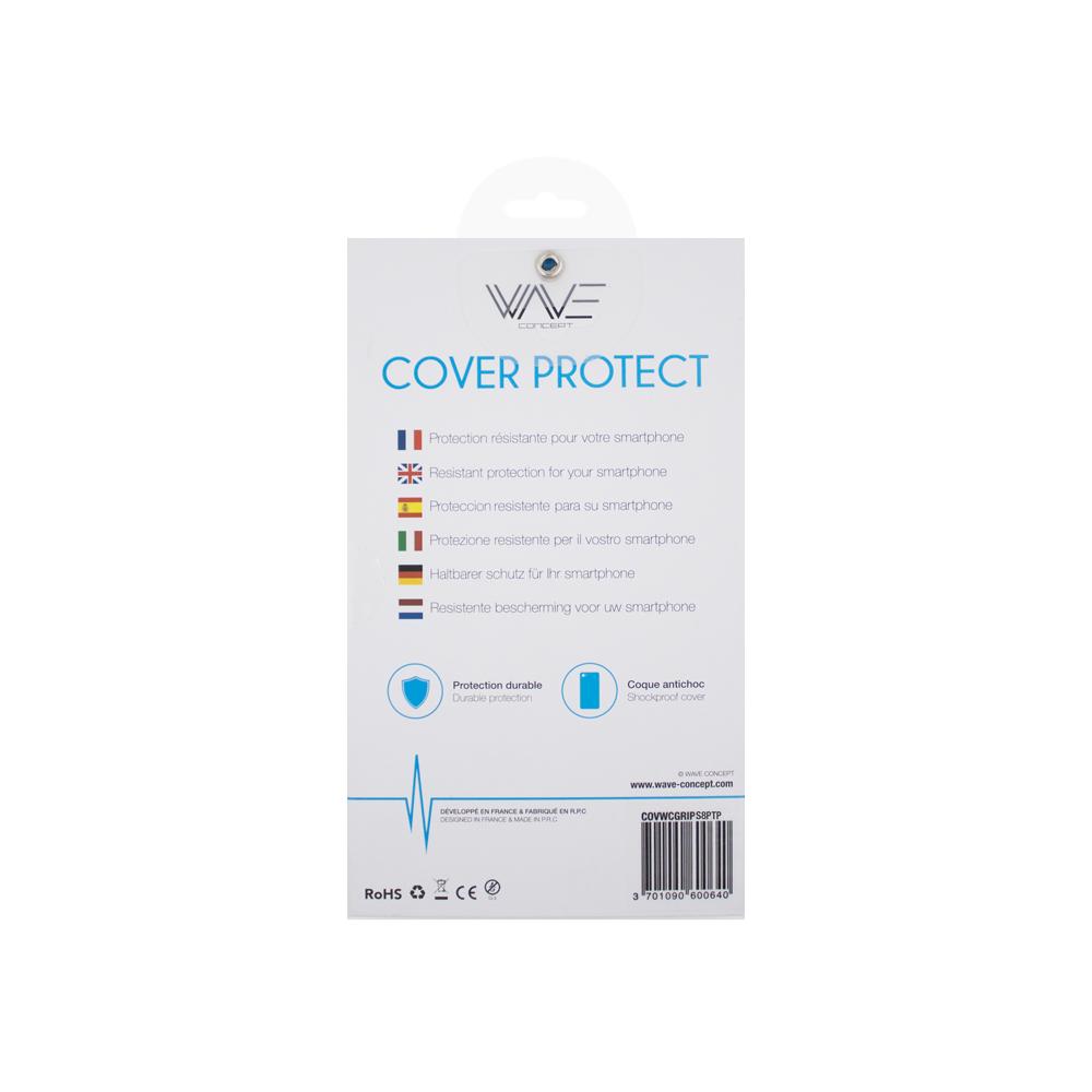 Cover Skin Grip Shockproof Samsung S8+ Wave Concept