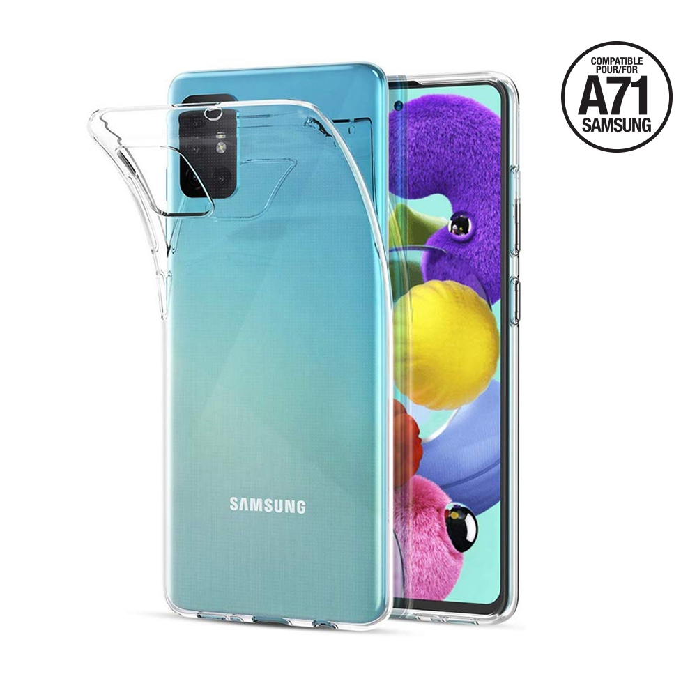 Cover Soft Crystal Clear Samsung Serie A