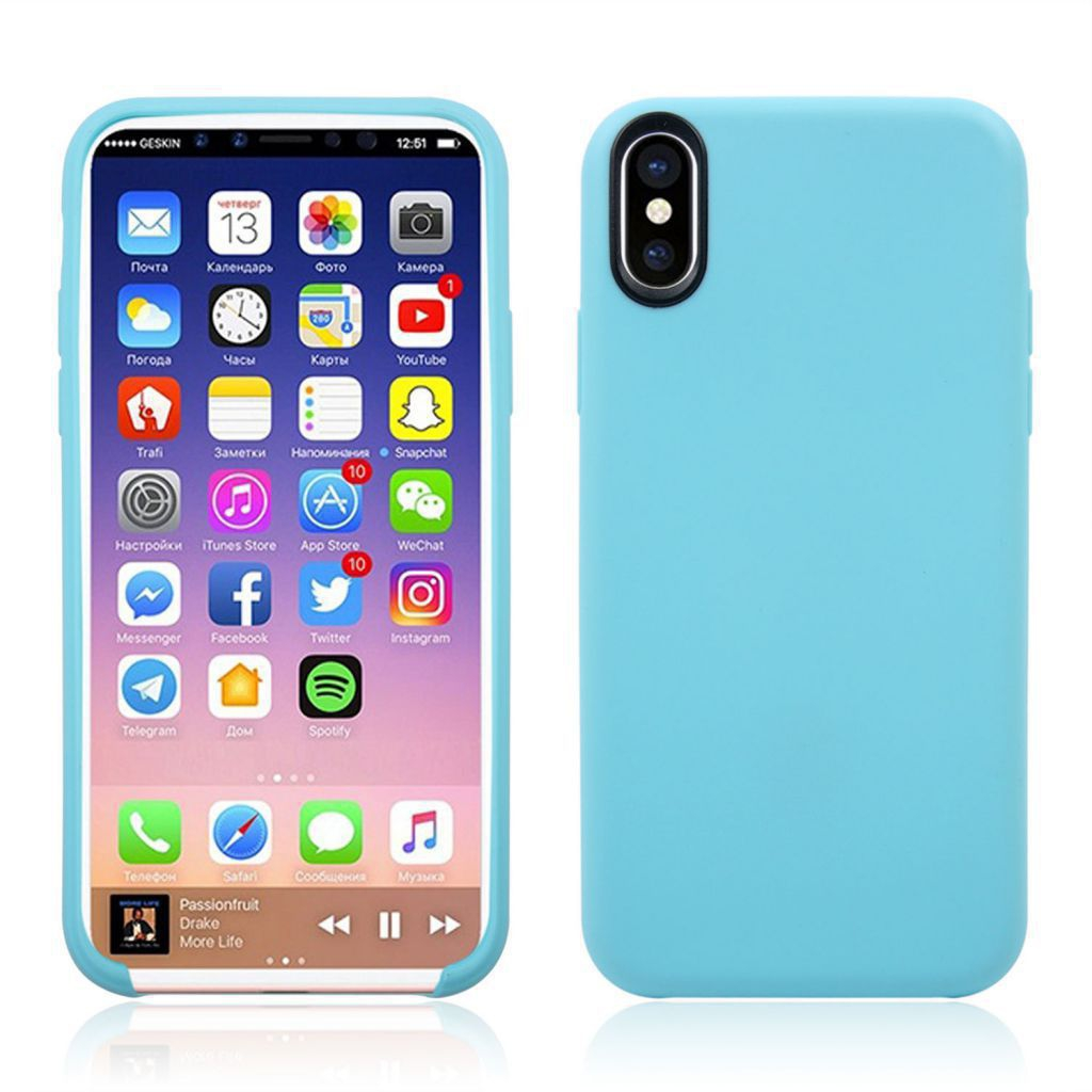Cover Softy pour iPhone X