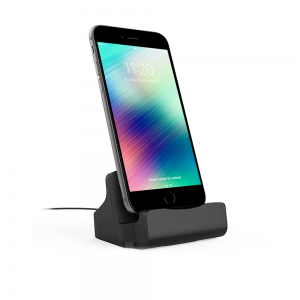 Dock de charge - Connecteur Lightning - Finition Rubber Black