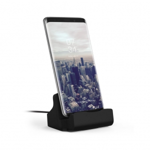 Dock de charge - Connecteur USB-C - Finition Rubber Black
