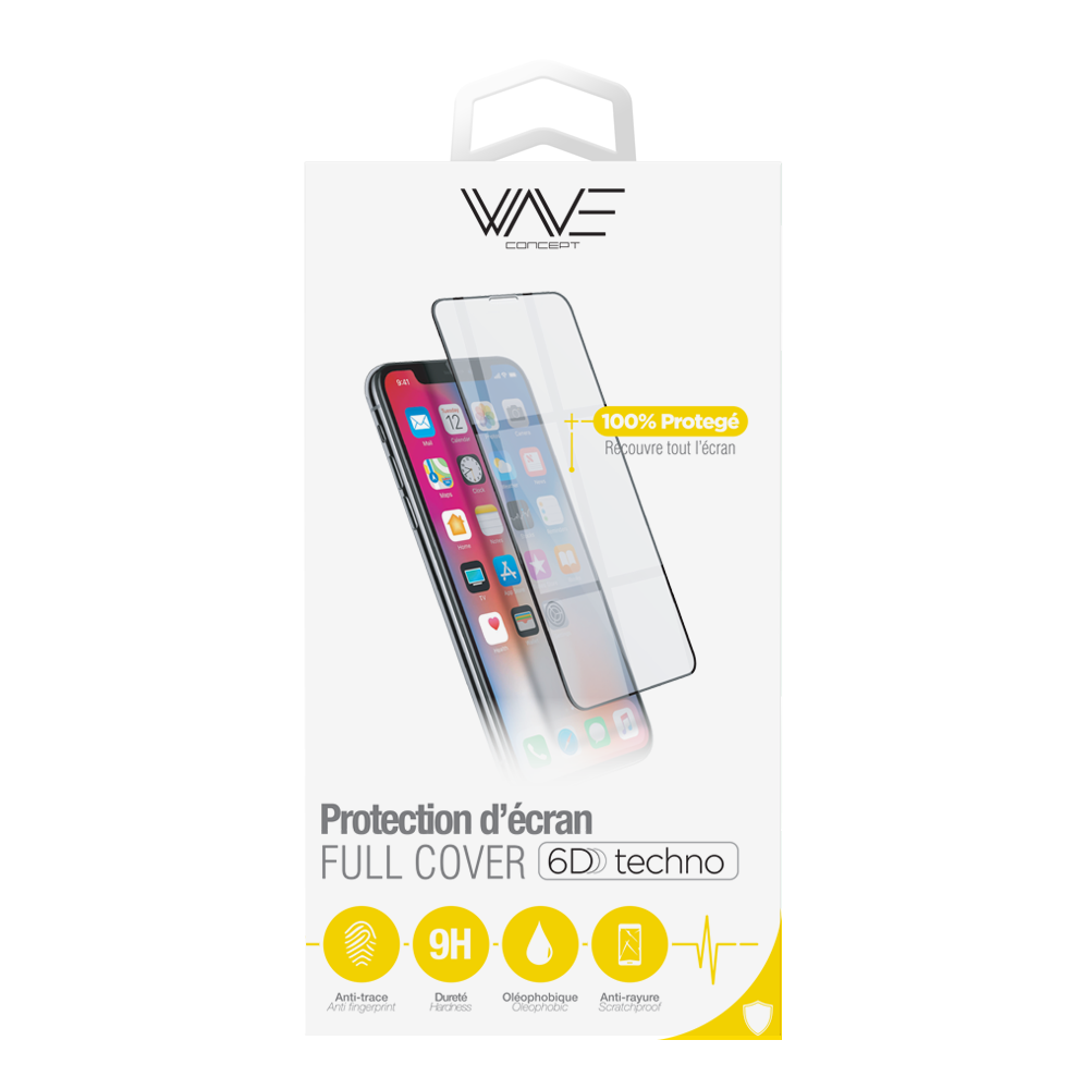 Film en verre trempé 6D pour iPhone 11 Pro Max