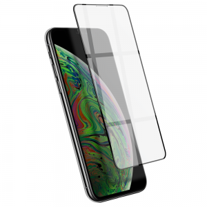 Film en verre trempé 6D pour iPhone XS MAX Black