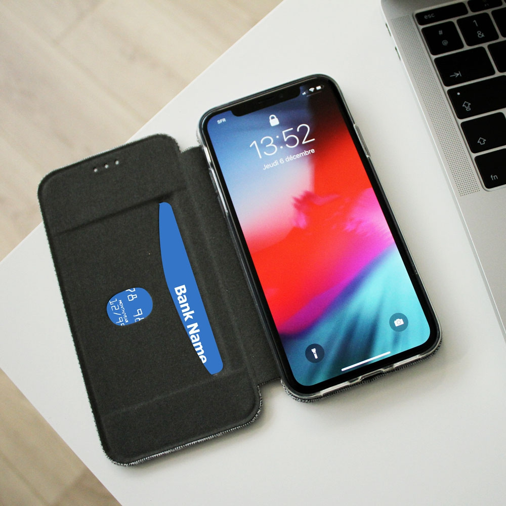 Folio Canvas Wallet case pour iPhone XS MAX