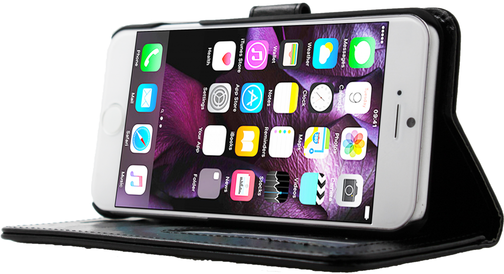 Folio Florida Noir pour iPhone 7 Wave Concept