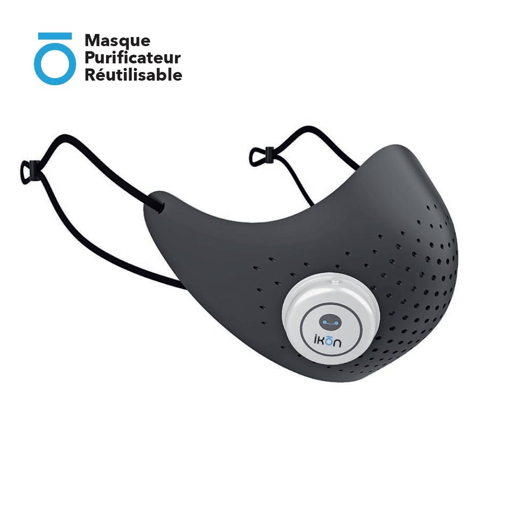 Masque Purificateur Réutilisable (Attache oreille réglable)