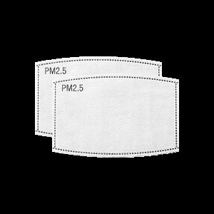 Pack de 2 filtres PM 2,5 pour masque Alternatif en tissu