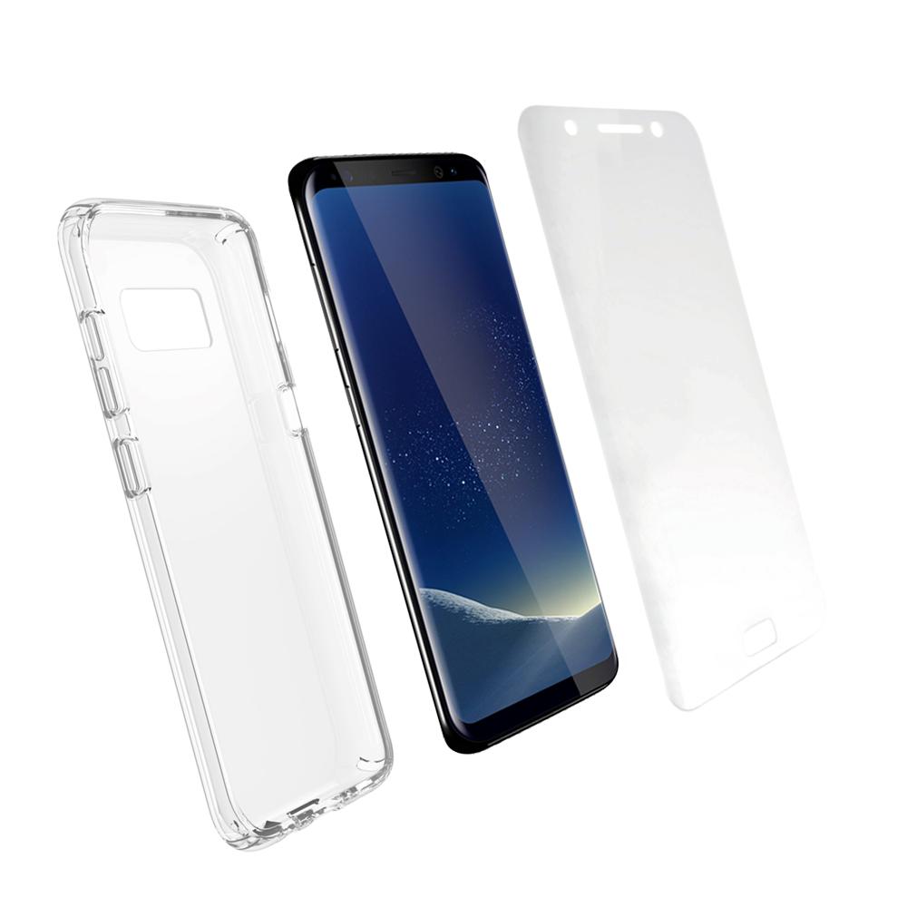 Pack Ultimate Protect Galaxy Série S - La protection maximale de votre smartphone.