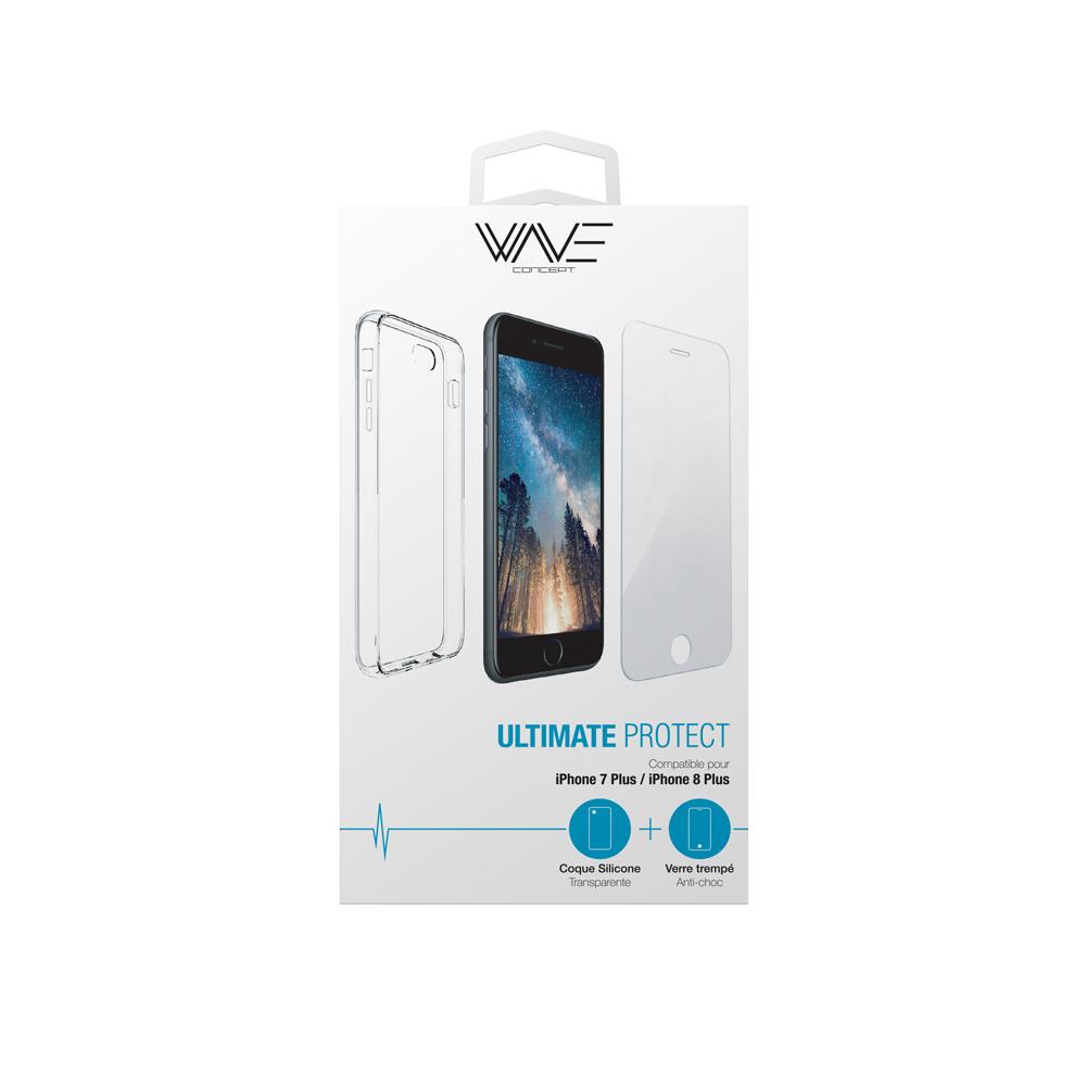 Pack Ultimate Protect iPhone - La protection maximale de votre smartphone.