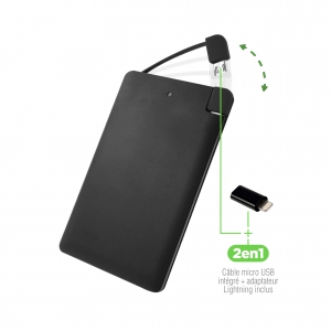 Power Bank 2500 mAh Flat Color