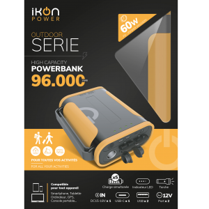 Power Bank Outdoor 96000mAh