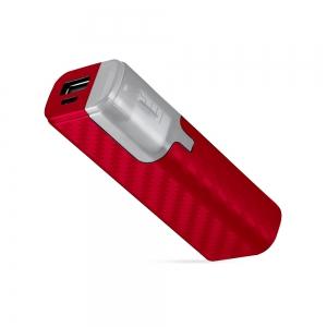 Power Bank Stick Color Finition Carbone 2000 mAh