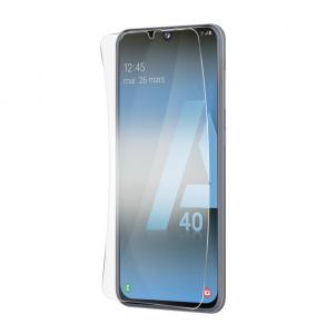 Protection d\'écran pour Samsung A40 en verre trempé antichoc