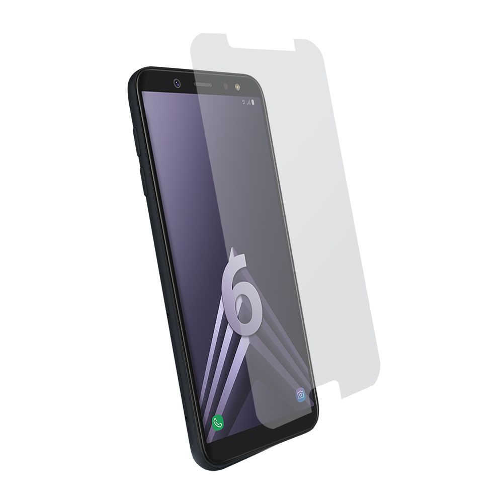 Protection d\\\'écran pour Samsung A6 2018 en verre trempé antichoc