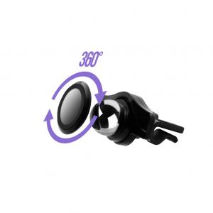 Support magnétique rotatif Aero Magnet avec Support Grille D\'aération 360°