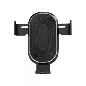 Support voiture Slide Car avec Technolgie Qi 10W pour Grille d\'Aération