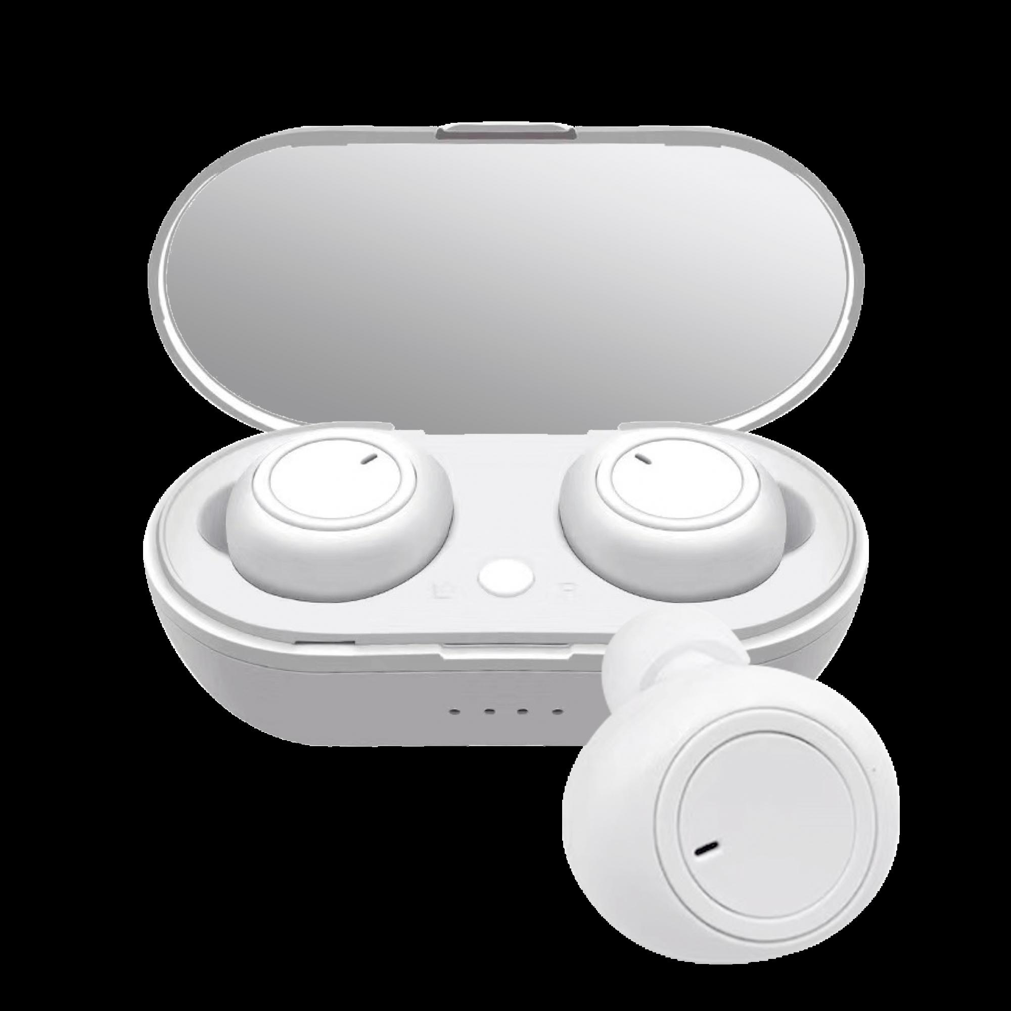 Ecouteurs Bluetooth Round Sound avec Dock de Charge -  - 8072044