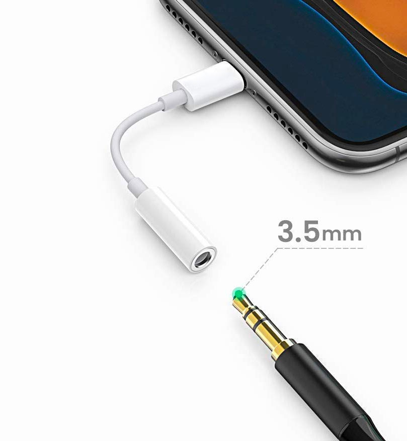 Adaptateur Lightning vers Jack 3,5 mm (Bluetooth) - 8082466