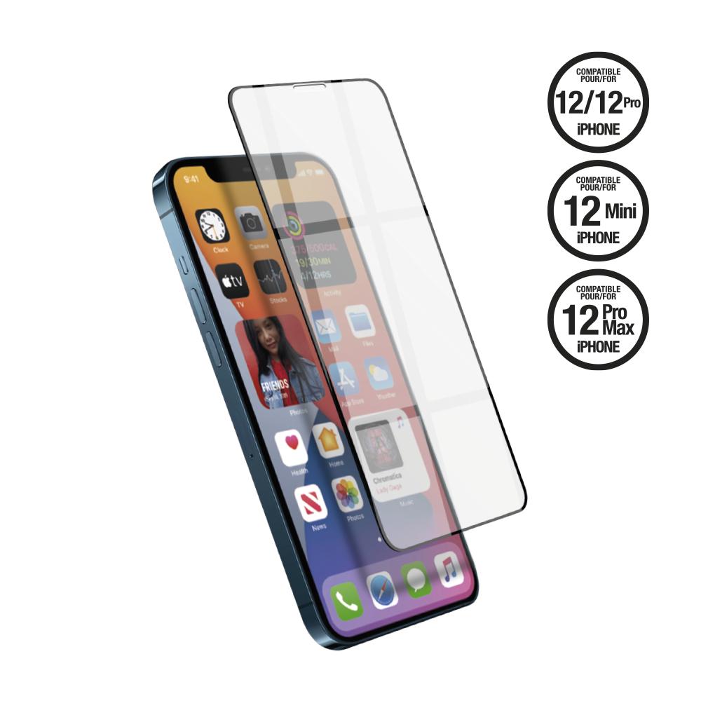 Film en verre trempé 6D pour iPhone 12 / 12 Pro / 12 Mini / 12 Pro Max