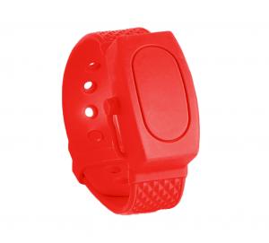 Bracelet Distributeur de Gel Hydro Alcoolique Capacité 15 Ml