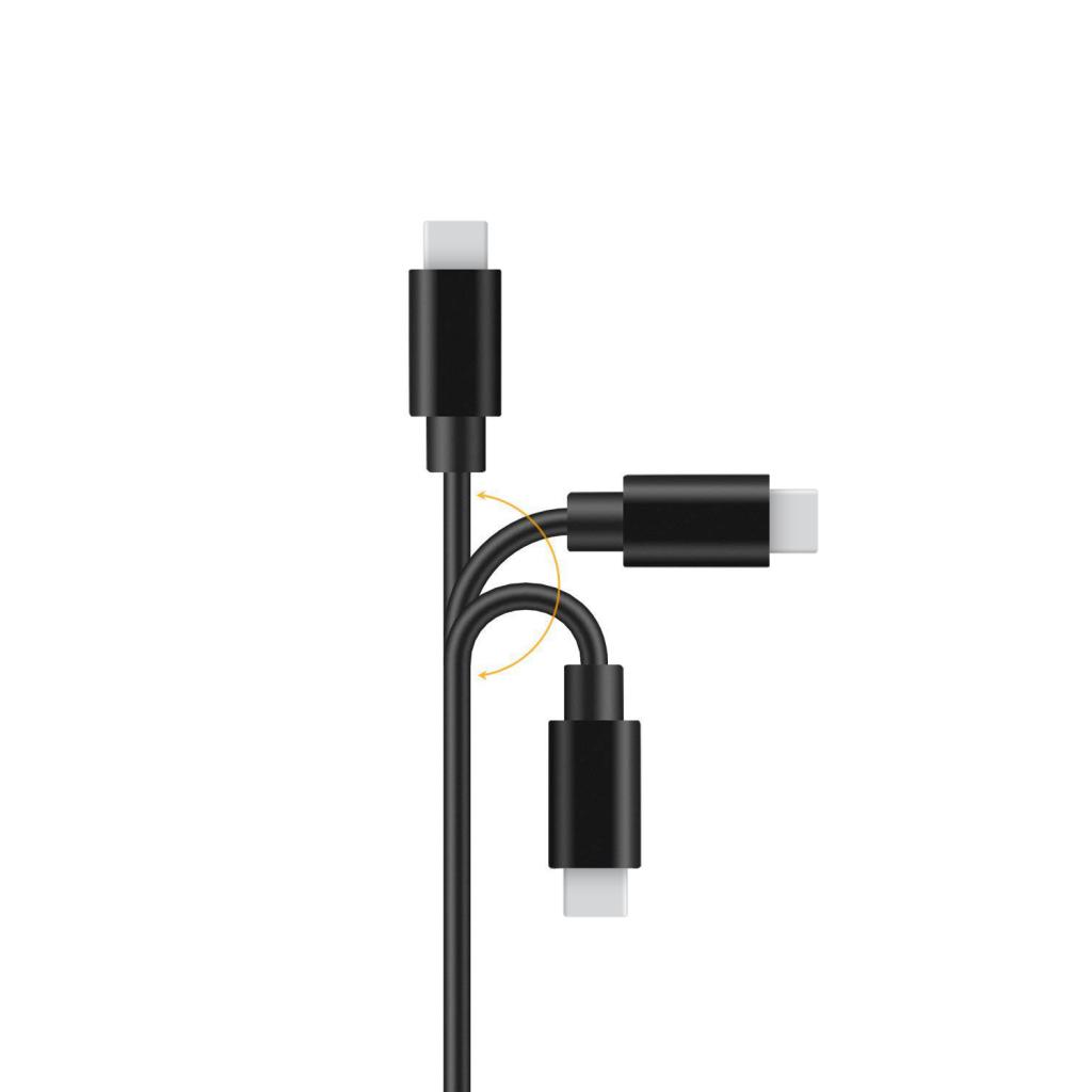 Câble Data - USB-C 2.0 - 1M - Black