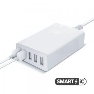 Chargeur Secteur - 5 ports USB 8A - SMART IC