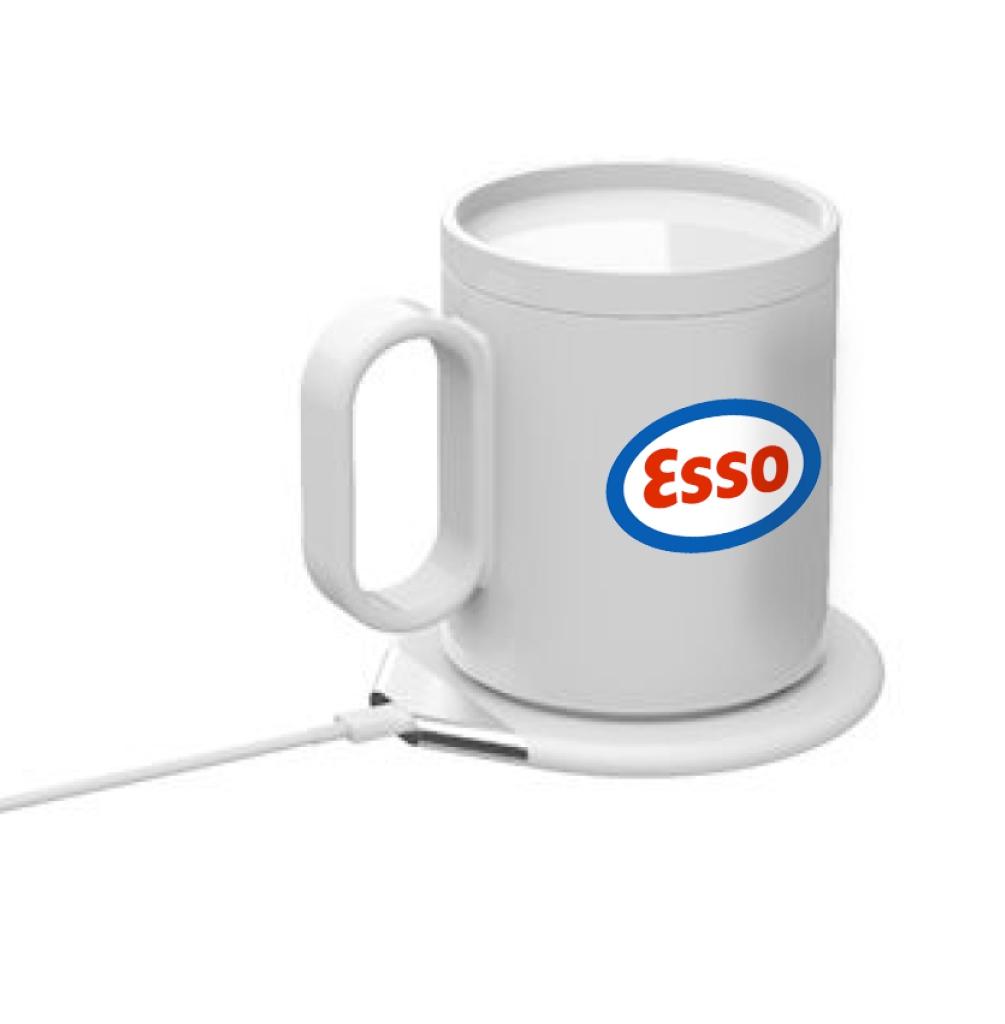Chauffe-tasse à café ou Thé  + Chargeur Induction 24W