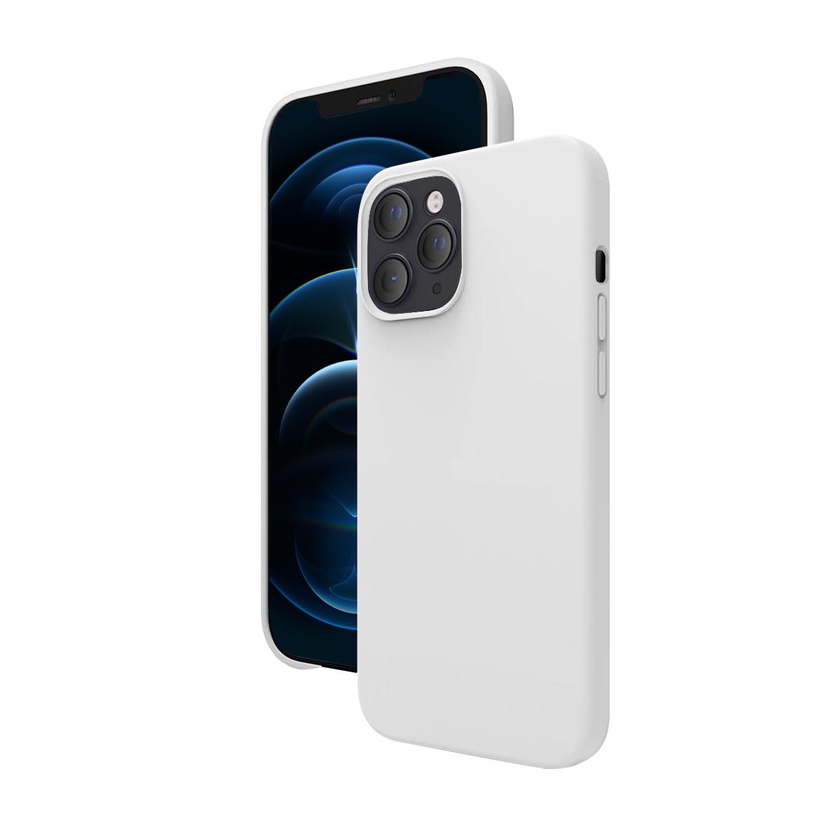 "Cover Premium Silicone 6,1\"" pour iPhone 12 & 12 Pro"