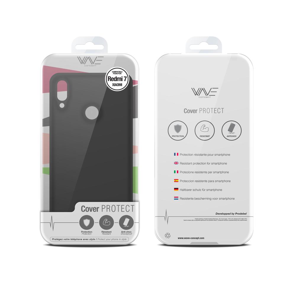 Cover Premium Silicone pour Xiaomi Redmi MI7