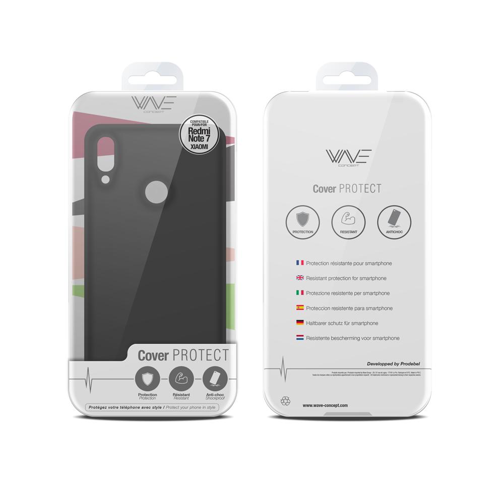 Cover Premium Silicone pour Xiaomi Redmi Note 7