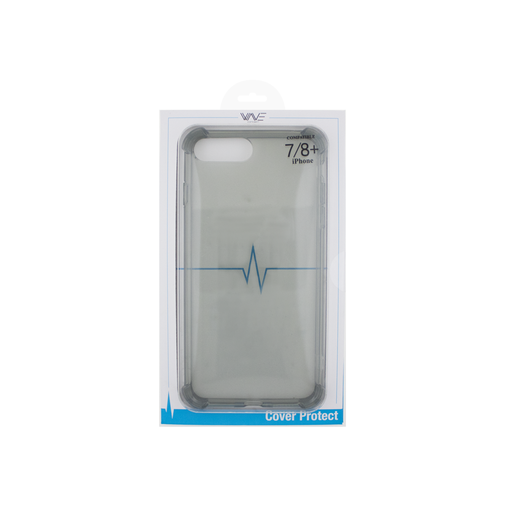 Cover Skin Grip Shockproof iPhone 7+/8+ Wave Concept