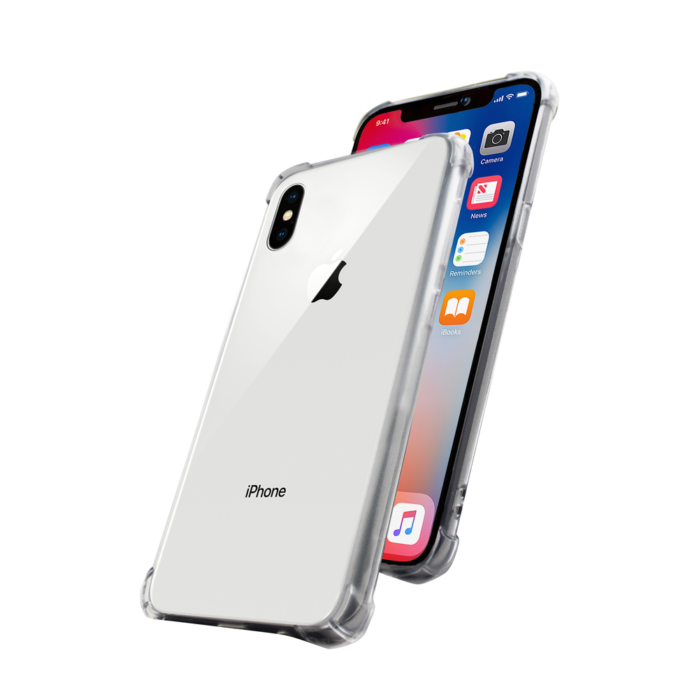 Cover Skin Grip Shockproof iPhone X  Wave Concept