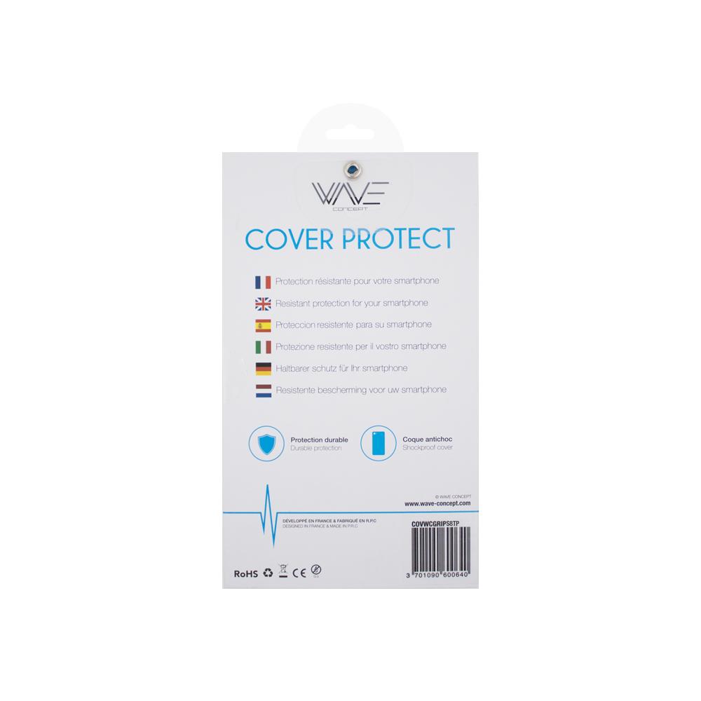 Cover Skin Grip Shockproof Samsung S8 Wave Concept