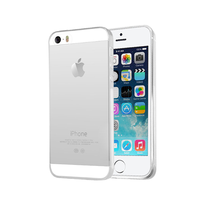 Cover Soft Crystal Clear pour iPhone